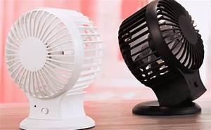 Petit Ventilateur De Bureau : petit ventilateur de bureau usb seulement 6 27 euros port inclus ~ Nature-et-papiers.com Idées de Décoration