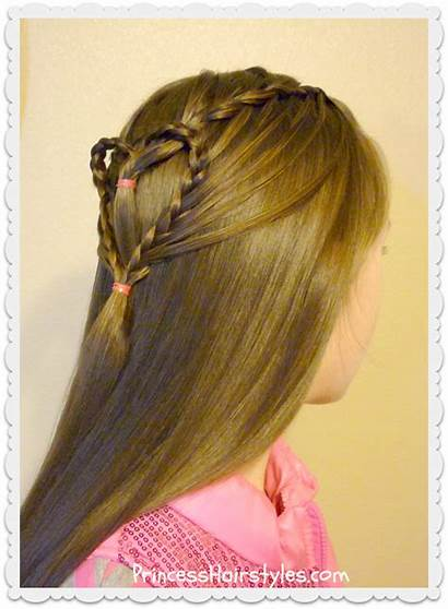 Heart Valentine Hairstyle Hairstyles Streaming Braided Hair