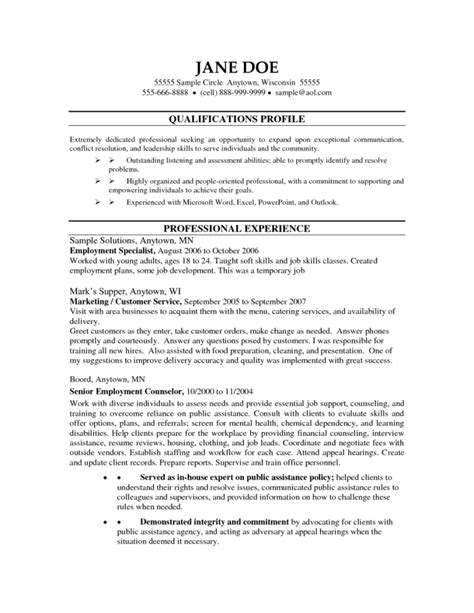 Resume For Professional Counselor by Exles Of Licensed Professional Counselor Resumes Resume Format
