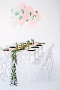 Deco Table Tropical : inspiration une tropical party save the deco ~ Teatrodelosmanantiales.com Idées de Décoration