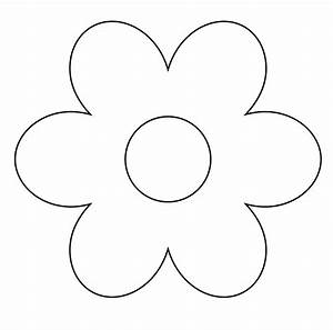 Daisy clipart simple flower - Pencil and in color daisy ...