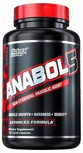 Nutrex Anabol 5 Black 120 Liquid Capsules 120 Kapszula