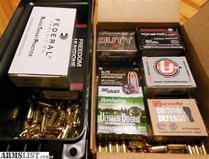 ARMSLIST - For Sale: .40 S&W Factory Ammunition
