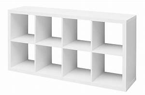 Ikea Bibliothèque Blanche : etag re 8 cubes emilie blanc ~ Teatrodelosmanantiales.com Idées de Décoration
