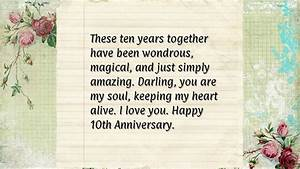 10th wedding anniversary quotes quotesgram With 10th year wedding anniversary message for my husband