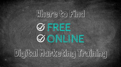 free digital marketing courses where to find free digital marketing