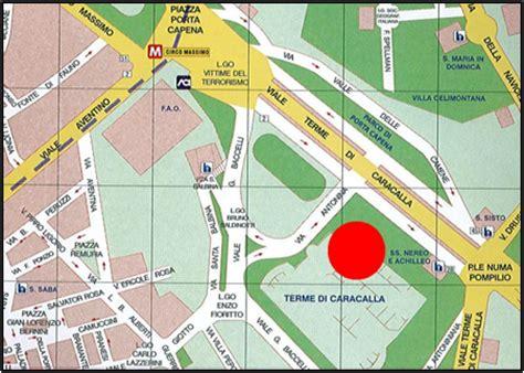Terme Di Caracalla Ingresso by Roma Capitale Sito Istituzionale Dettaglio