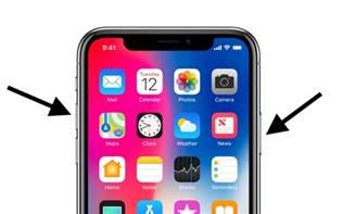 iphone buttons how to take a screenshot on iphone x
