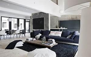 Decoración de casas: interiores en estilo moderno nórdico