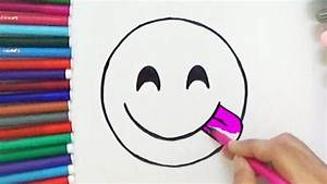 How To Draw Face Savouring Delicious Food Emoji - Cute and ...