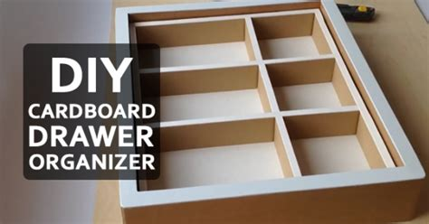How To Make Your Own Drawer Organizer by How To Make Your Own Drawer Organizer