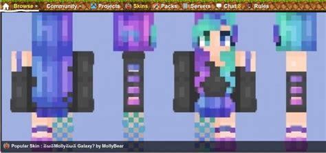 ≧ω≦molly≧ω≦ Galaxy? Minecraft Skin