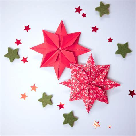 weihnachtssterne basteln grundschule basteln in der grundschule weihnachtssterne der steinige weg avec sterne falten origami et foto