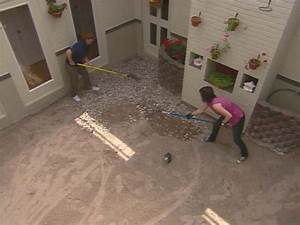 how to install concrete pavers how tos diy With can you sand concrete floor
