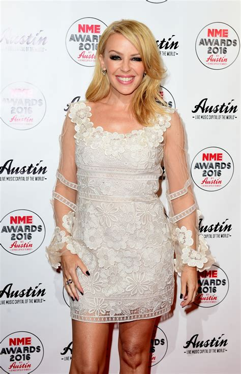 KYLIE MINOGUE at NME 2016 Awards in London 02/17/2016 ...