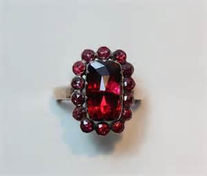 3 carat ring rings garnet ring inez stodel