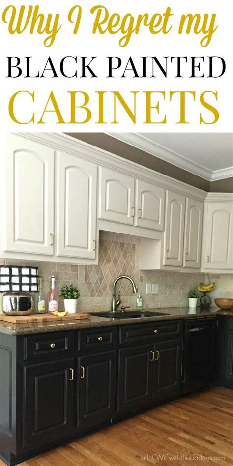 oak cabinet black kitchen cabinets the at home with the