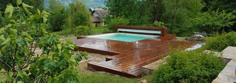 piscine en bois carree vercors piscine piscine en bois mini piscine