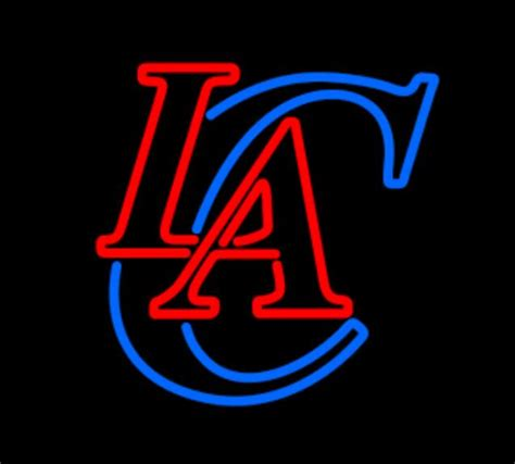 neon lights los angeles new los angeles clippers neon light size 22 quot x22 quot glass