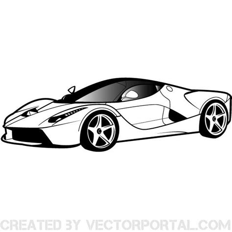 ferrari logo black and white vector ferrari car vector graphics download at vectorportal