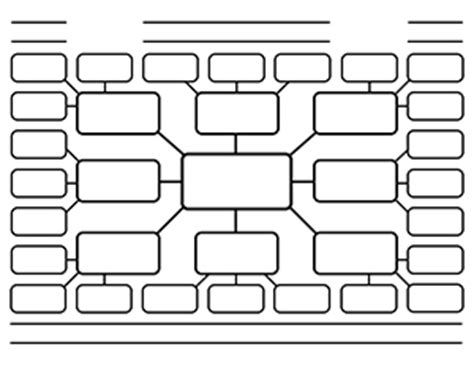 printable graphic organizers  brainstorming charts