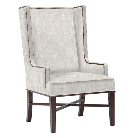 high back wingback chair jacqueline hostess wing back occasional dining arm chair