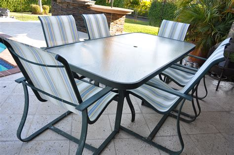 patio table with 6 chairs patio furniture table and 6 chairs the hull truth