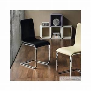 Midj chaises de salle a manger adele chaises cuir for Meuble salle À manger avec chaise cuir noir salle manger