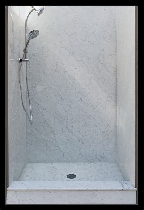 your shower remodel the advantages of marble vs cultured