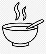 Bowl Coloring Soup Clipart Pinclipart Drawing Clip sketch template