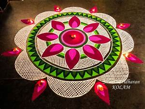 23 Best & Easy Rangoli Designs for Diwali【 2017