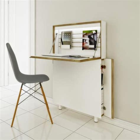 meuble bureau ferme avec tablette rabattable le bureau pliable est fait pour faciliter votre vie