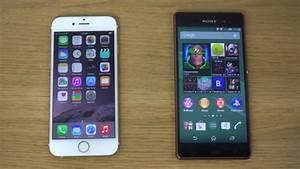 Comparatif Iphone 6 Et Se : iphone 6 vs xperia z3 comparatif smartphone apple et du smartphone sony ~ Medecine-chirurgie-esthetiques.com Avis de Voitures