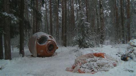 nasa astronaut braves russian winter  crash landing