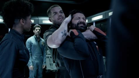 The Lost World Jurassic Park Logo The Expanse News Our Top Expanse Moments Season 1 Episode 3 Syfy Wire