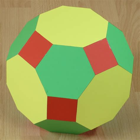 Truncated Cuboctahedron Template by Pictures Of Archimedean Solids