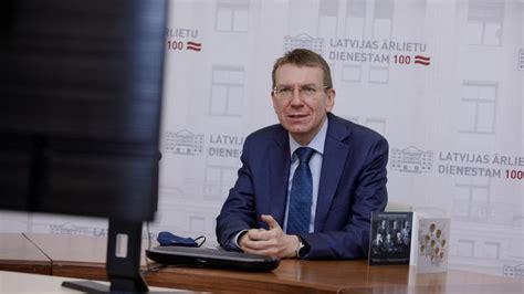 Latvijas ārlietu ministrs: ES jāpaplašina ierobežojošie ...