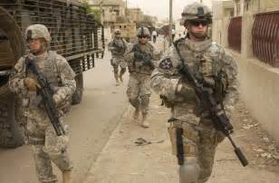 Most Decorated Soldier In War On Terror by File Elements Of The 3rd Stryker Brigade On Patrol In Iraq