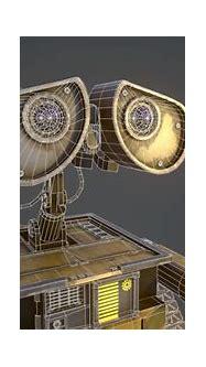 WALL-E 3D Model Game ready .max .obj .tga - CGTrader.com