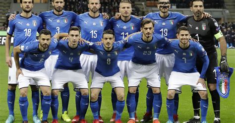 World Cup Italy Fails Qualify For First Time
