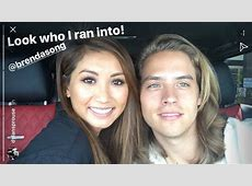 Dylan Sprouse ran into