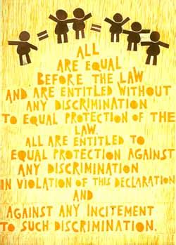 rights  equality   discrimination australian