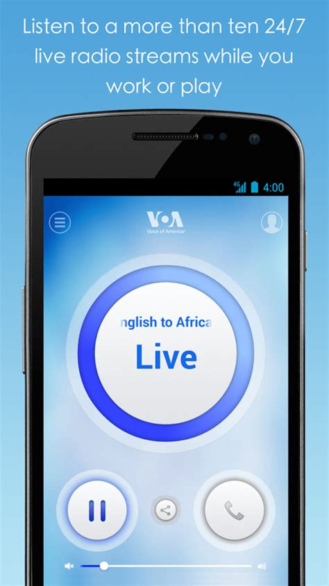 Voa App by Voa Mobile Streamer For Android