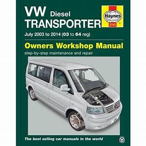 New Haynes Manual Vw T5 Transporter Diesel 2003