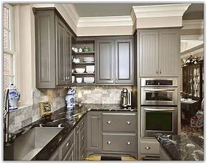 Wall colors that go with grey cabinets savae