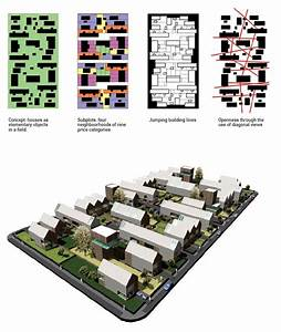 Rural Masterplan Based On Housing As Objects In The