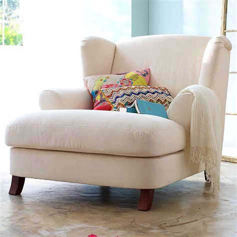 comfortable reading chair with ottoman modern chair high