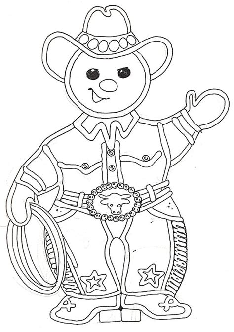 gingerbread man  woman coloring pages  getcolorings