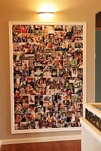 Diy photo wall ideas without frames : Best ideas about collage picture frames on