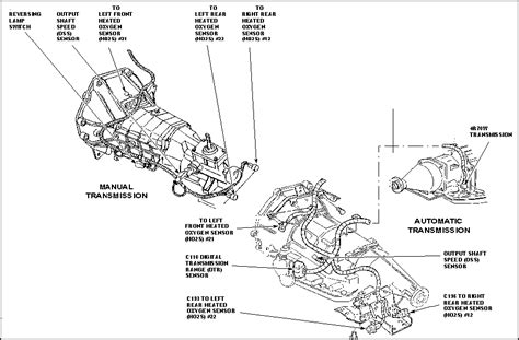 2014 ford mustang automatic transmission wiring diagram